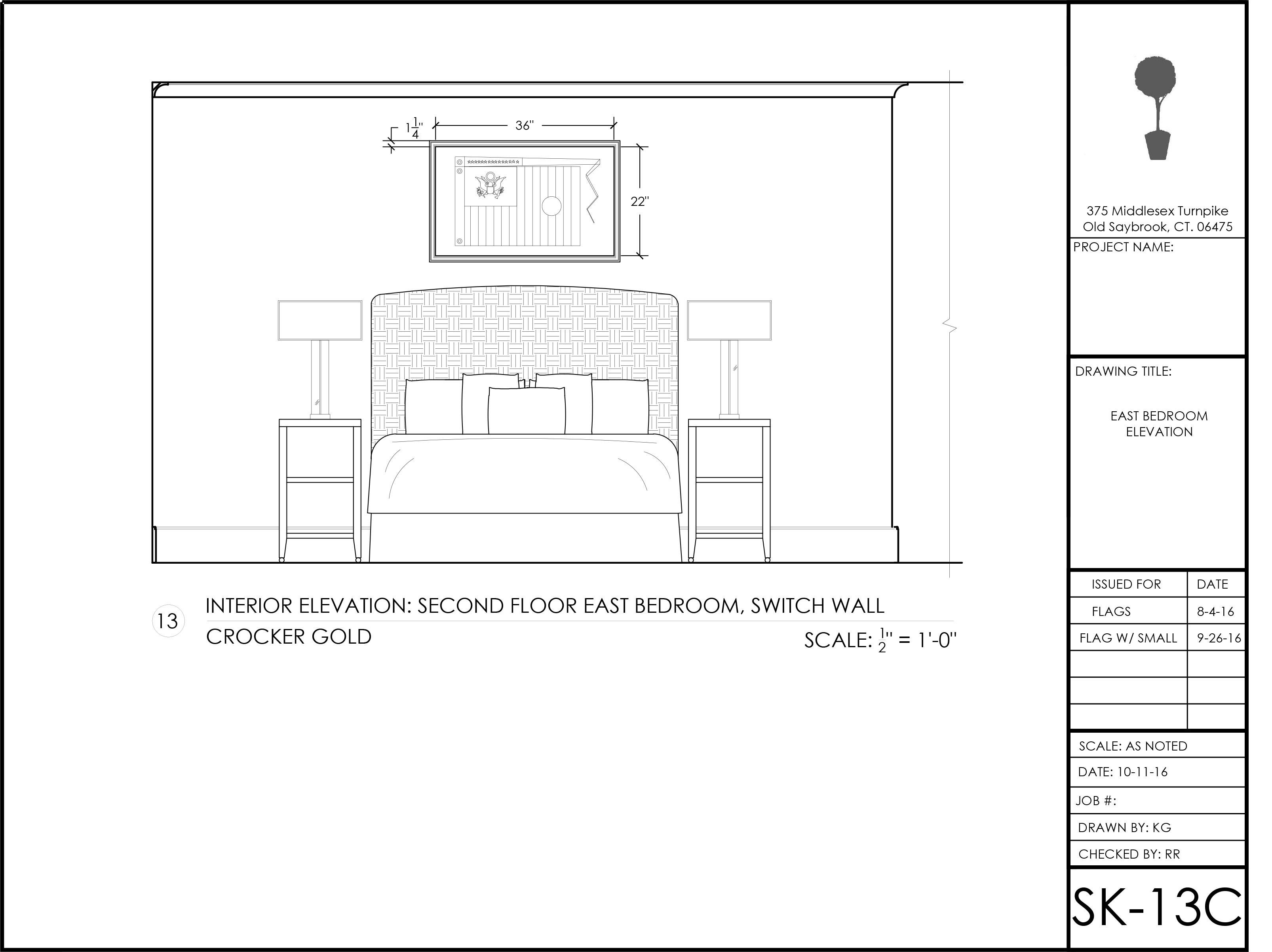 Space Planning and Schematic Design - Threetrees Interiors on